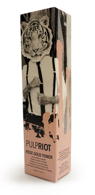 Pulp Riot Rose Gold Toner