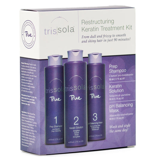 Trissola True Smooth Keratin Trial Kit
