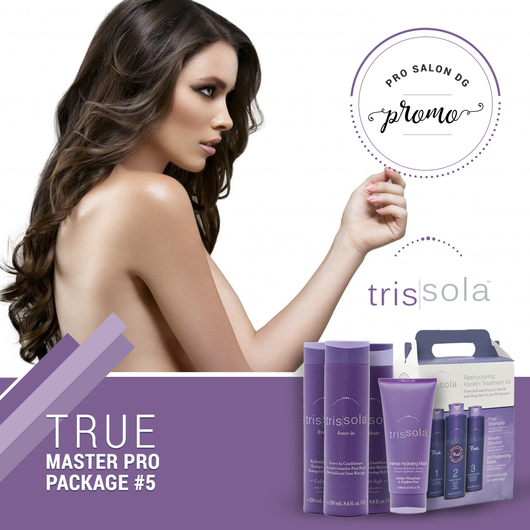 Trissola TRUE Keratin Treatment Master Pro Package #5