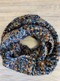 Multi Color Knit Infinity Scarf (5 Colors)