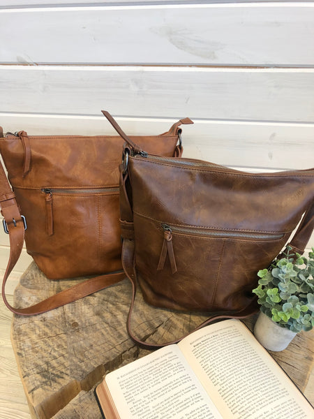 Crossbody Bucket Purse (2 Colors)