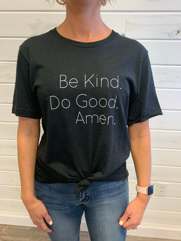 Be Kind Tee, Black