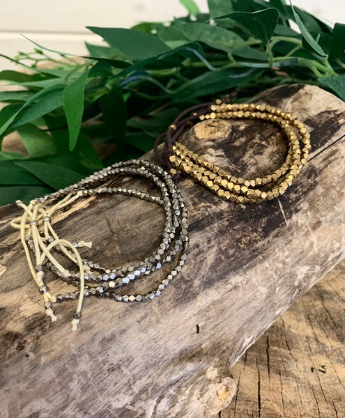 B59 Shiny Bead Bracelet (2 Colors)