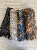 Multi Color Knit Long Scarf (4 Colors)