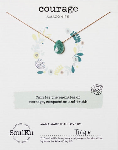 SoulKu Gemstone Necklace (12 Styles)