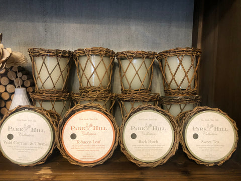 Park Hill Basket Candle (4 Scents)