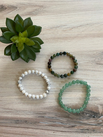 DB23 Single Stone Bracelet (3 Colors)