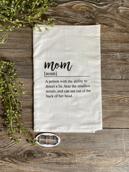 Mom Definition Dishtowel