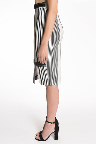 STRIPED PENCIL SKIRT | QUINN
