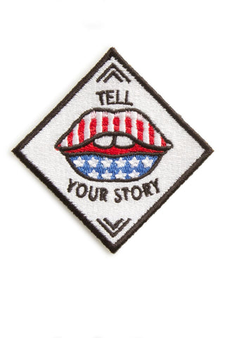 EMBROIDERED PATCH | TELL YOUR STORY
