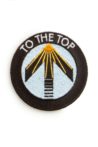EMBROIDERED PATCH | TO THE TOP