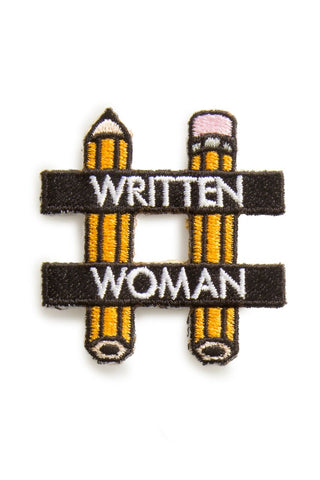 EMBROIDERED PATCH | WRITTEN WOMAN