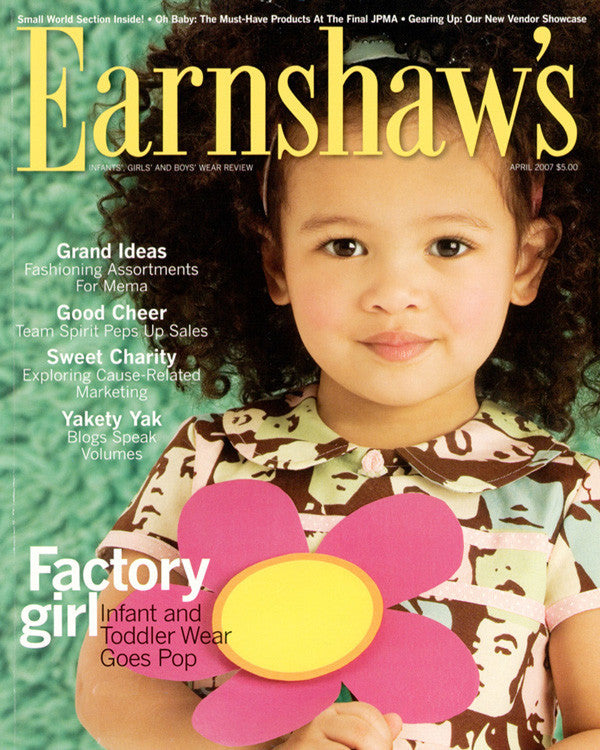 EARNSHAW'S APRIL 2007