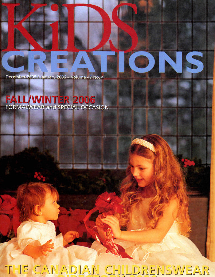 KIDS CREATIONS HOLIDAY 2005