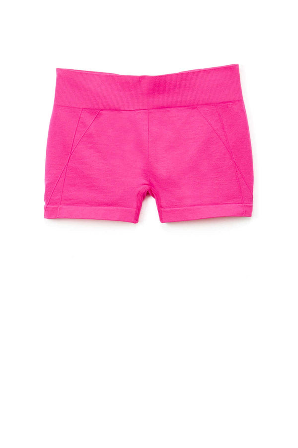 Seamless Mini Shorts - Fuchsia