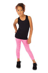 active CAPRI LEGGINGS - FUCHSIA MELANGE