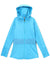 Love In Color Long Hoodie -Turquoise