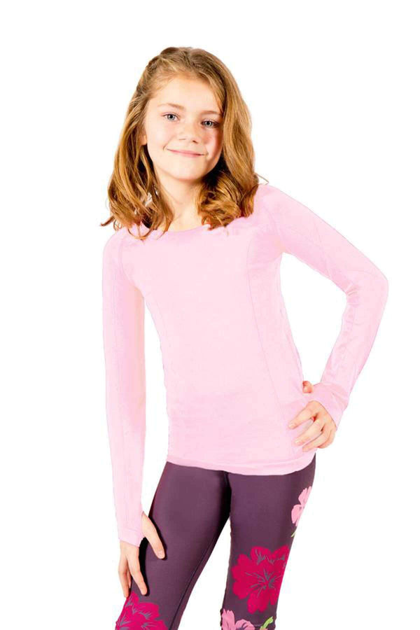 active Long Sleeve Top - Light Pink