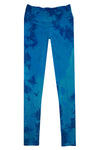 Boutique Leggings - Blue Navy TIE DYE