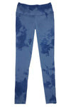 Boutique Leggings - Periwinkle Blue TIE DYE