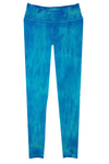Boutique Leggings - Turquoise Blue TIE DYE