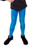 Wendy Top + Turquoise Blue Tie Dye Legging Set