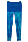 Boutique Leggings - Turquoise Navy TIE DYE