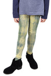 Fiona Top + Yellow Black Tie Dye Legging Set
