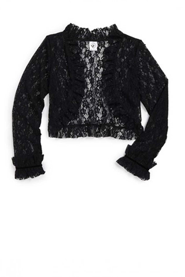 Lace Cardigan - Black