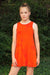 Gemma Dress - Orange Tie Dye