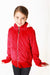Lined Bubble Jacket - Red