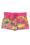 Bubble Shorts - Rainbow Tie Dye