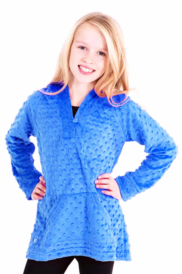 Minky Bubble Tunic - Blue by Limeapple