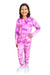 Girls highly-coveted soft Minky Bubble Onesie - Pink Magenta Tie Dye by Limeapple