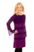 Camellia Dress - Dark Purple