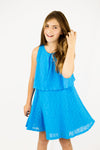 Faye Dress- Turquoise