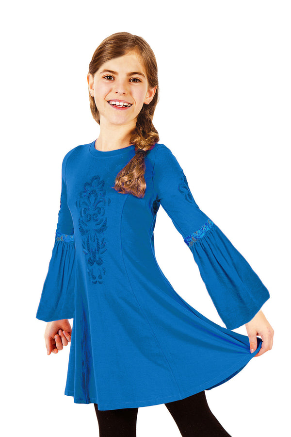 Freya Dress - Blue