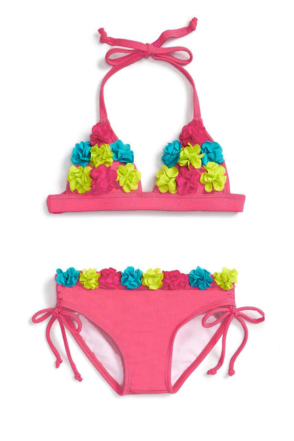 Ginger Toddler Rosette Bikini Swimsuit