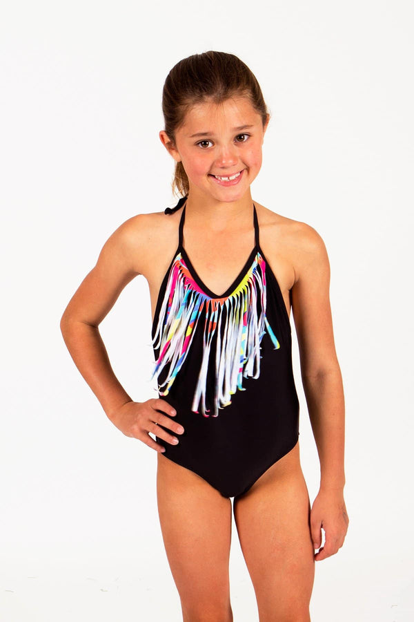 Maira Fringe One Piece Swimsuit