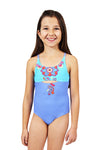 Marine One Piece Cutout Swimsuit