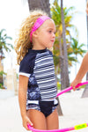 Midori Toddler Rash Guard Set