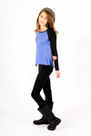 Rae Top + Black Legging