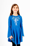 Ramona Dress - Blue