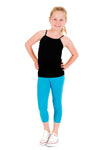 Active Capri Leggings - Turquoise