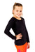 active Long Sleeve Top - Black