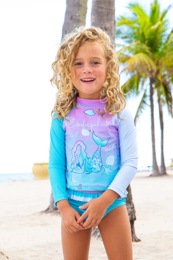 Shine Rash Guard Set - Toddler