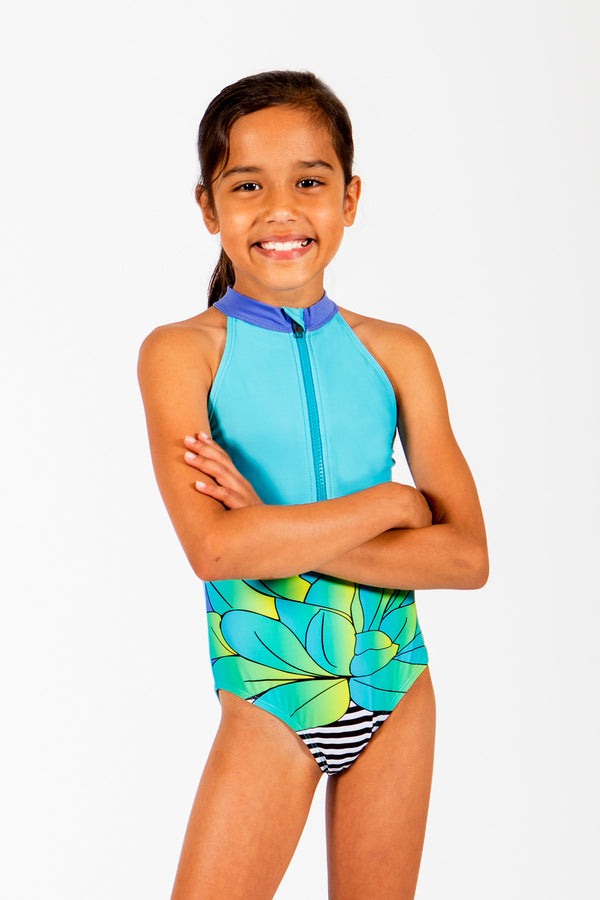 Sirene Halter One Piece Swimsuit