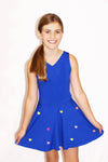 Talia Dress - Cobalt