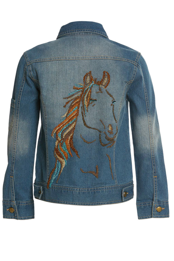 Dakota Horse Jean Jacket