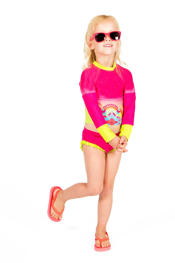 Lux Toddler Rashguard Set